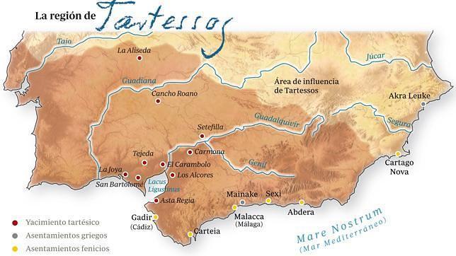 Dónde estaba ubicada Tartessos?
