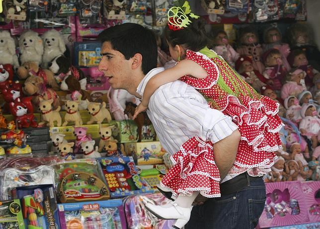 «No, si a mí no me gusta la Feria, yo vengo por los niños»