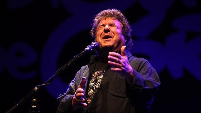 Enrique Morente, durante un actuación en Córdoba