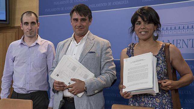Podemos presentó el martes su primera iniciativa legislativa