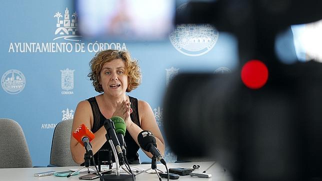 La presidenta de Vimcorsa, Alba Doblas