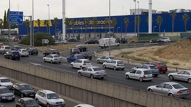 como etá el tráfico ikea barcelona