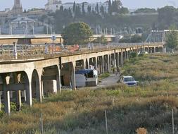 Las plataformas de transporte público del Aljarafe plantean dos nuevos puentes y dos túneles