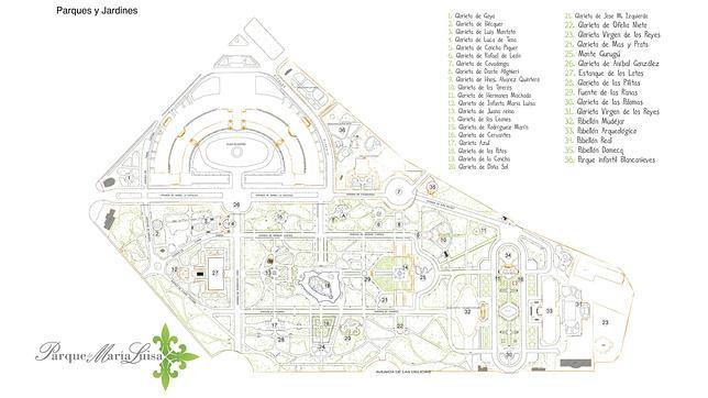 El Parque De Maria Luisa Un Oasis Verde En Medio De La Ciudad