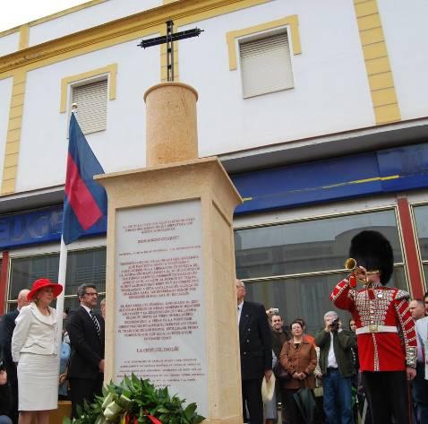 Monumento a la memoria del héroe de la Cruz del Inglés
