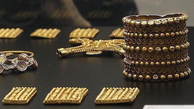 El tesoro del Carambolo está compuesto por 21 piezas de oro