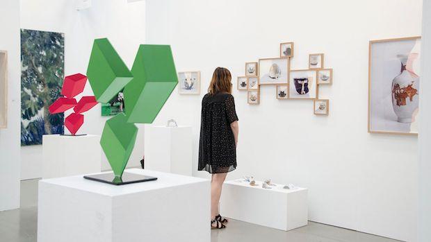 Una de las salas de exposición de Art Marbella / ABC