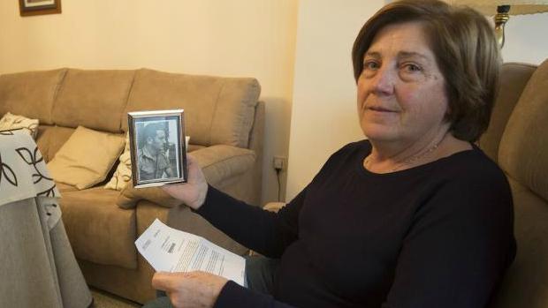 Angustias Gómez, la viuda del paciente a quien iba dirigida la carta