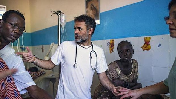 Jorge Muñoz durante una de sus estancias en Chad / Pep Bonet
