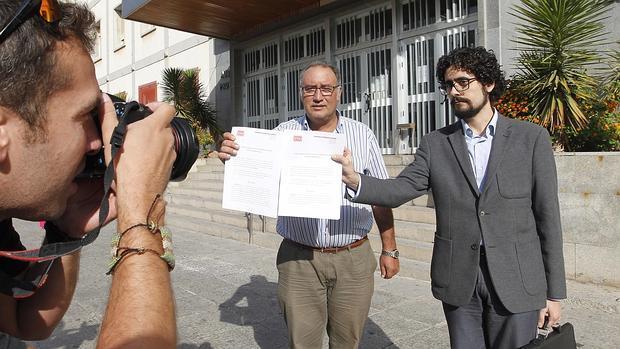 Francisco Moro, ante la Audiencia Provincial con motivo de sus acciones judiciales por la gestión del Alcázar