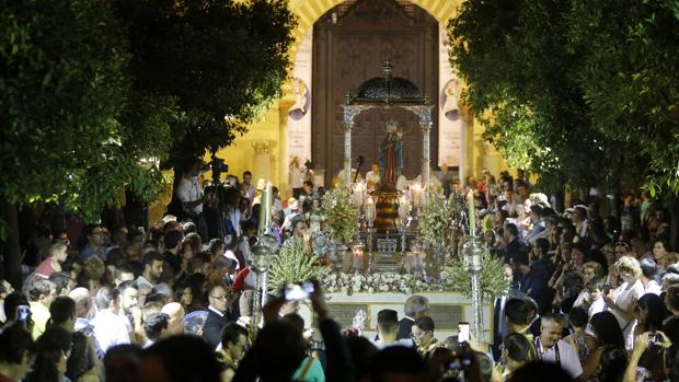 La Virgen De La Fuensanta Celebra Su Dia En Las Calles De Cordoba