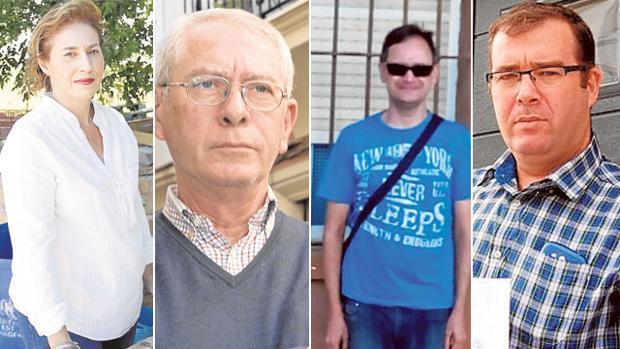 Cuatro afectados por el impuesto de sucesiones de la Junta de Andalucía