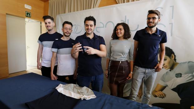 Cinco de los ideadores de la camiseta térmica