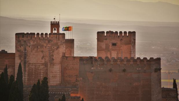 Vista áerea de la Alhambra de Granada