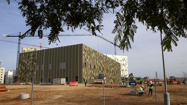 Hospital Quirónsalud en Córdoba, que se encuentra en su fase final