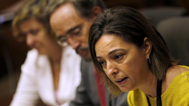La alcaldesa de Córdoba, Isabel Ambrosio, en un acto en el Ayuntamiento