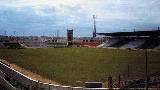Imagen del viejo Arcángel, estadio histórico del Córdoba CF