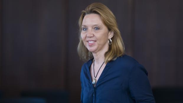 Nuria Mendoza, auditora de la Cámara de Cuentas, en el juicio del caso ERE