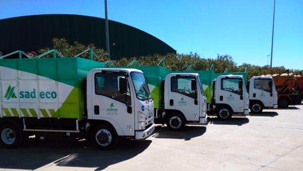 Camiones de Sadeco