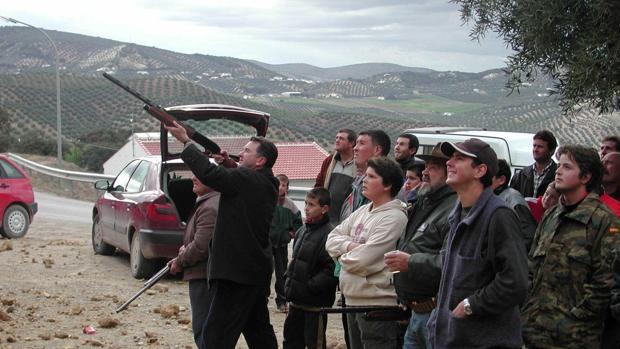 Cazadores de aves en Córdoba