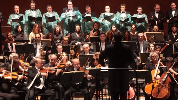 Concierto de Año Nuevo de la Orquesta de Córdoba en una edición anterior