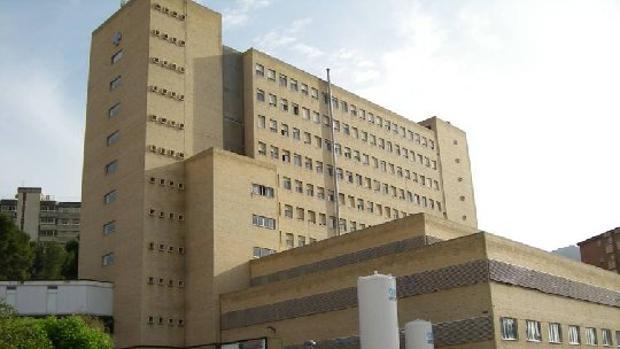 Hospital Médico-Quirúrgico de Jaén, donde falleció el paciente