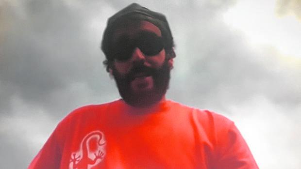Imagen de Spiriman en el video que ha hecho actuar a la Fiscalía