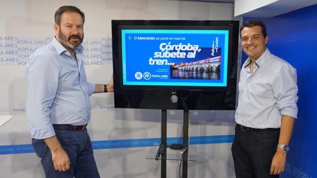 Adolfo Molina y José María Bellido, en la presentación de su nueva campaña