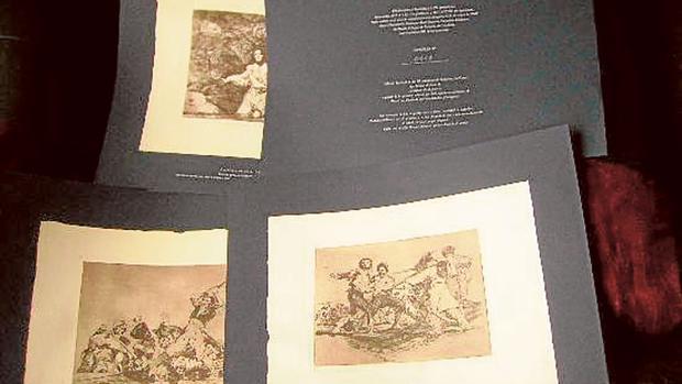 Las estampas de Goya en discordia