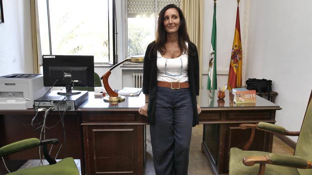 María Ángeles Núñez Bolaños, en su estreno como juez de Instrucción