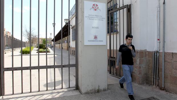 Entrada al Instituto Municipal de Desarrollo Económico de Córdoba
