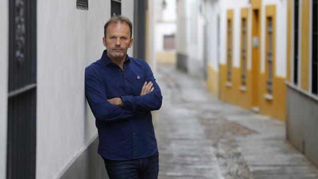 El cantaor y profesor David Pino posa para ABC