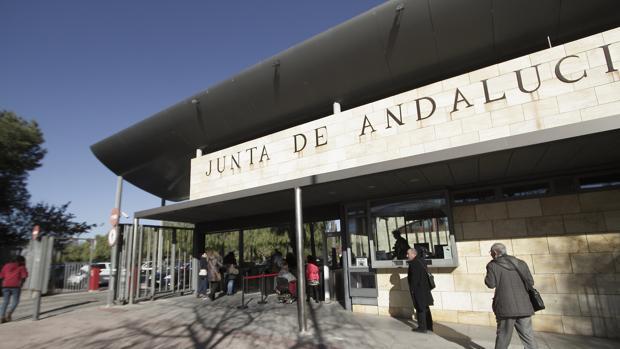 Edificio de Torretriana en Sevilla, una de las mayores sedes administrativas de la Junta de Andalucía