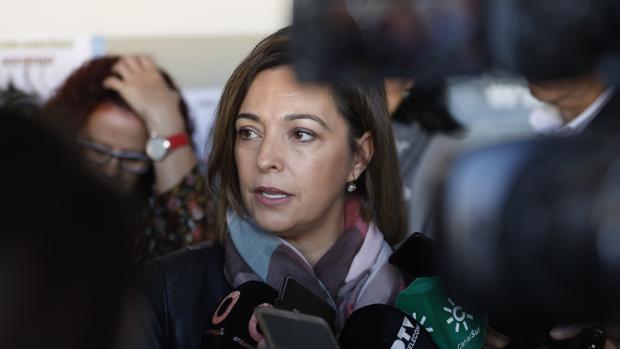 La alcaldesa de Córdoba, en una rueda de prensa