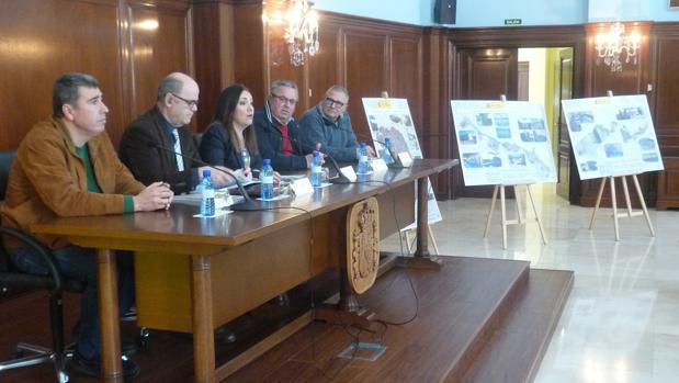 La subdelegada del Gobierno, Catalina Madueño, durante la presentación de las inversiones en regadíos
