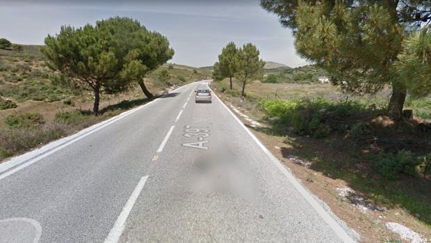 Vía donde se ha producido el accidente
