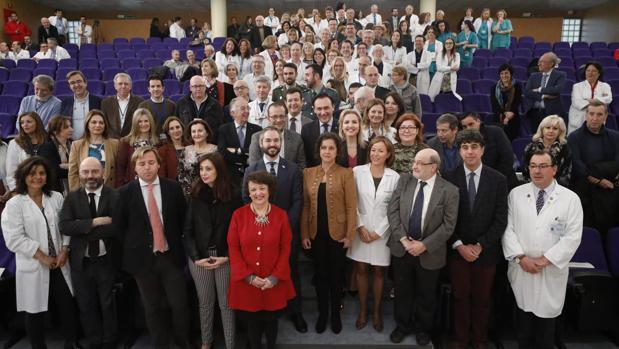Presentación de los actos por el 40 aniversario del programa de trasplantes del Reina Sofía de Córdoba