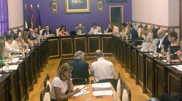 Pleno celebrado en el Ayuntamiento de Jaén