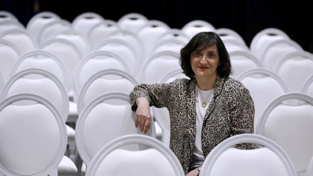 María Zábala, durante la entrevista con ABC Córdoba
