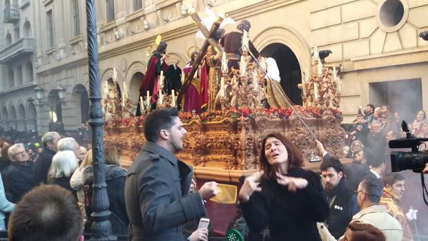 Iván Centenillo y Esther Ramallo interpretaron el año pasado en Granada la primera saeta inclusiva de la Historia.