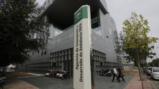 Sede de la Agencia Idea en la isla de la Cartuja de Sevilla
