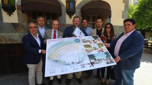 Presentación del proyecto de Casetas Tradicionales