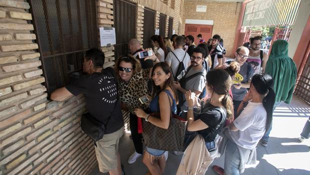 Distribución de las entradas en la Plaza de Toros