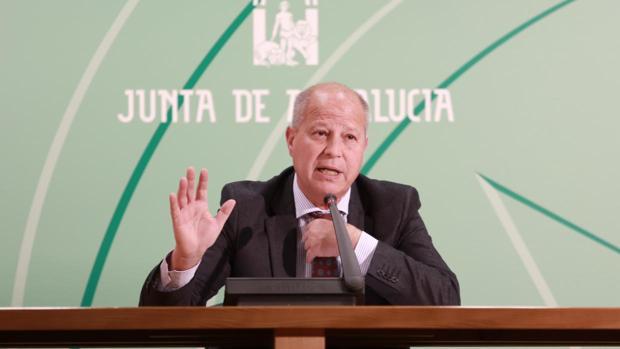 Javier Imbroda, consejero de Educación y Deporte de la Junta de Andalucía