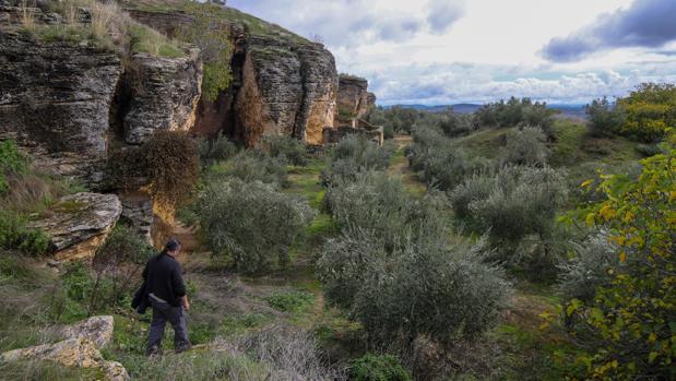 Minas que trabajaron los íberos en Ategua, en el término municipal de Córdoba