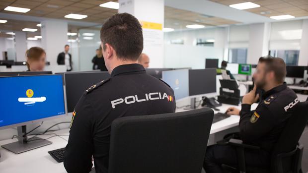 Agentes de la Policía Nacional adscritos a la ORGA de Algeciras