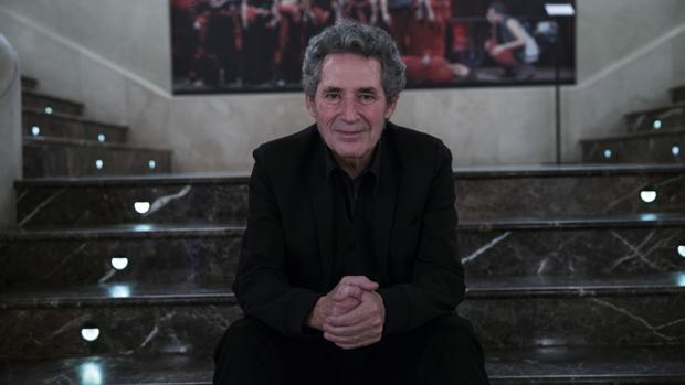 Miguel Ríos, que actúa en el Festival de la Guitarra de Córdoba, durante una entrevista reciente