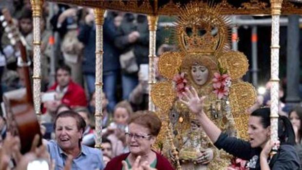 El suceso tuvo lugar durante la romería de la Virgen del Rocío