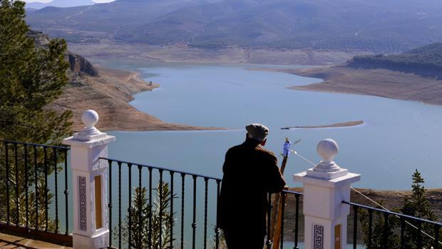 Pantano de Iznájar, el más grande de Andalucía