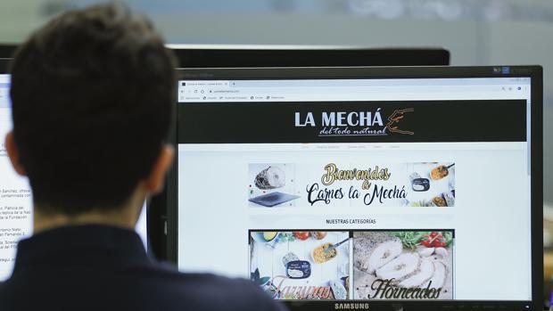 Página web «La Mechá»